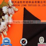 Polar fleece fabric bonded breathable film and knit mesh fabric for winter jacket