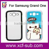 Black White Printable 2d Heat Press Phone Case Cover for Samsung Galaxy Grand neo