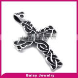 factory price Best Selling Stainless Steel man celtic cross pendant jewelry