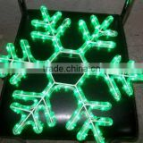 NEW Design CHRISTMAS TREES Pendant Decorative Clear Acrylic Snowflake With LED Light For Christmas decor