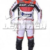 Biker Leather Suit/ Motorcycle Leather Racing suit