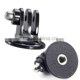 Bicycle Handlebar / Seatpost Clamp with Three-way Adjustable Pivot Arm for Gopro Hero 3+/3/2/1