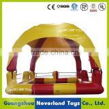 Customized Design NEVERLAND TOYS Inflatable Swimming Pool Outdoor Sports Summer Pool with Tent Hot Sale