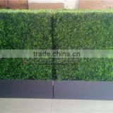 Artificial boxwood hedge screen boxwood panel