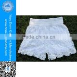 Domi High Quality Custom Full Lining Crochet Beach Shorts For Women