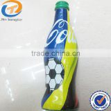 Bottle shape fan plastic football small air horn