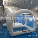 Inflatable Lawn Tent,2016 Inflatable transparent dome for sale,PVC inflatable bubble room Clear Dome Bubble