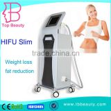 5.0-25mm Professional 13mm Ultrasound Hifu Expression Lines Removal Body Slimming Machine Cosmetic Clinic Equipment High Frequency Beauty Machine