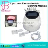 portable 650nm lipo laser full body liposuction vacuum roller massage machine