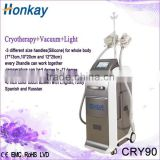 CE approve Cryo therapy cool tech fat freezing machine , belly fat reducing machine with fat freeze tech