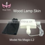 16W skin care analyse lamp wood light professional magnifier with europe usa plug for salon shop