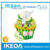 Customized design Hanging Car Air Freshener/Custom paper air freshener/paper car air freshener