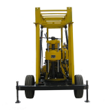 Factory direct sale four-wheel water well drilling rig