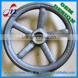 OEM sand Casting hand wheel for industrial equipment