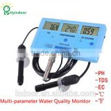 SIX IN ONE MULTI PARAMETER EC / CF / TDS pH WATER QUALITY MONITOR
