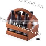 new design cheap wholesale unfinished wooden beer crates/cheap wooden fruit craes for sale