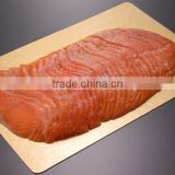 fish board(smoked salmon board,gold/silver paper board,aluminum foil laminated paper board,food tray board)