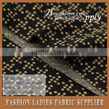 Shaoxing cicheng textile new design knitted jacquard fabric with lurex for elegent lady dress