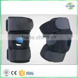Adjustable Silicon Pad Knee Support, Knee Brace with Hole