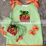 Latest baby girls party dresses Halloween costumes for kids baby sleeveless smocked clothes