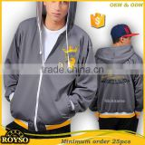 Custom Your Own Youth Size Hoody Wholesale Team Varsity Men Baseball Bomber Hip Hop Embroidery School College Soft Shell Jacket