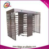 Best-selling RFID card reader full height turnstile gate design in door access control system with exit button