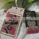 Custom adhesive crystal cellphone case