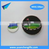 golf ball marker poker chip magnetic coin golf ball marker with logo