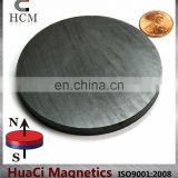 "magnet sheet Ferrite Magnet Dia 3""x 1/4"" Disc Grade C8 used for industrial magnet pieces"