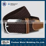 Eco-friendly jacquard elastic polyester cotton twill webbing belt