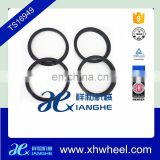 Colorful Plastic Black Hub Centric Rings Wheel Ring