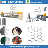 Automatic reverse twist hexagonal wire netting machine Max Mesh Weaving Width Heavy Duty gabion machine