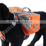 Factory Wholesale Medium&Large Dog Outdoor Backpack Saddle Training Bag Big Hiking Camping Carrier bag