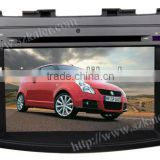 sell centrais multimidia for Suzuki Swift with GPS/Bluetooth/Radio/SWC/Virtual 6CD/3G internet/ATV/iPod/720P RM/720P RMVB