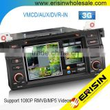"Erisin ES7146B 7"" E46 M3 Rover 75 MG ZT Car DVD Player with GPS"