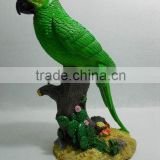 Resin Parrot bird animal statue for garden light decoration                                                                                                         Supplier's Choice