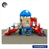JT16-3901 High safety kindergarten used commercial children outdoor playground equipment for sale