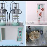 Fully Automatic PVC Cylinder&Tube Curling Machine for Double ends curling& Both sides curling