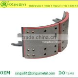 Excellent quality of 4515X3 brake shoe lined or unlined