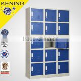 KEING customized cheap steel 5 tier 3 wide coin storage locker cabinet