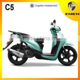 C5-China product 2014 cheap gasoline scooter patent design, popular sell in Africa and America.