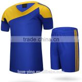 2016 new arrivel factory price cricket wholesale sportswear wholesale football jersey set