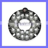 Infrared 24-LED Illuminator Board Plate for 6mm Lens CCTV Security Camera