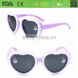 New design heart shape fashion sun glasses,sunglasses for kids