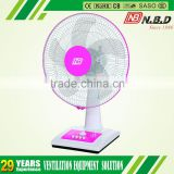 16 inch simple design table fan without blade