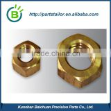 custom made cnc lathe brass parts with competitive price BCS 0469