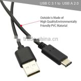 USB C 3.1 to USB A 3.0 Type-C Charger Cable