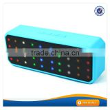 AWS1135 Super bass portable wireless colorful led bluetooth light speaker with FM radio disco light speaker