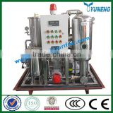 Light polluted KYJ Fire-Resistant Oil / EHC hydraulic Oil Filtering Machine ( Stainless Steel, Vacuum Evaporation)