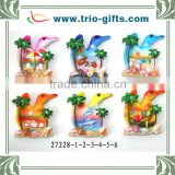 New Stytle Bird Shape Polyresin Souvenir Magnet